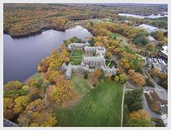 camera new 2 england color fall college leaves boston ma aerial vision plus phantom wellesley drone dji