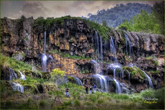 (0281/14) Cascadas de la Balsa (Cuenca) (Pablo Arias) Tags: trees friends espaa naturaleza amigos nature photoshop spain agua gente nikond50 cielo nubes atardeceres hdr texturas cuenca smrgsbord photomatix tamron18250 olequebonito kddsnikonistas greatmanipulart grouptripod oltusfotos goldenvisions pabloarias