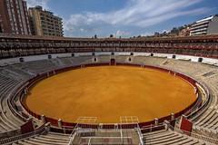 Plaza de toros de La Malagueta, Malaga, Spain (**Anik Messier**) Tags: architecture spain europe andalucia malaga bullring culturalasset plazadetorosdelamalagueta