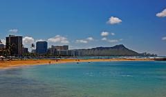 Magic Morning (jcc55883) Tags: ocean sky clouds hawaii nikon oahu magicisland pacificocean diamondhead honolulu rainbowtower yabbadabbadoo d40 nikond40 alamoanaarea