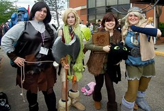 Cosplay (lorrainmackenzie) Tags: heather dragons astrid hiccup portcon dreamworksanimation httyd ruffnut ridersofberk