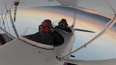 G0054746-1800 (arkley68) Tags: sunset sky sunlight tower fall grass night clouds airplane flying airport open control loop aircraft spin great lakes cockpit greatlakes landing roll inverted takeoff runway pilots biplane aerobatics hammerhead taxiing hangars 2t1a2 gopro landind