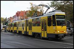 BVG Tatra KT4D 6017 (Xavier Bayod Farr) Tags: berlin germany tram xavier tramway berliner strassenbahn tatra tranvia villamos bvg  tramvia bayod verkehrsbetriebe 6017 farr elektrika berlinerverkehrsbetriebe kt4d strasenbahn canoneos60d kt4dmod efs18135mmf3556isstm xavierbayod xavierbayodfarr