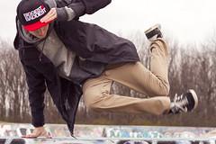 0019-MM copy shoot (Jerick Collantes) Tags: park school ballet white cold college hat fashion outside photography dance alley image montreal ottawa communication skatepark freeze algonquin hiphop breakdance bgirl breadcrumbs bboys colorchecker jerickcollantes jjerbear