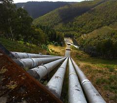 Tarraleah Hydro (bmeup) Tags: electric hydro tasmania tarraleah penstock