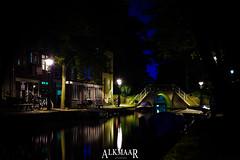 Alkmaar, Noord-Holland, Netherlands (Stewart Leiwakabessy) Tags: longexposure nightphotography holland netherlands night dark evening nightlights nederland thenetherlands nightlight photowalk nl alkmaar hdr afterdark noordholland stewartleiwakabessy