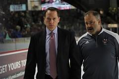 Hockey vs. Vermont (dailycollegian) Tags: coach greg carvel carolineoconnor