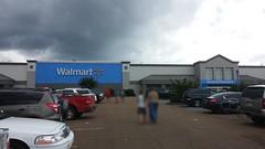 Oxford Walmart, 8-13-16 (Retail Retell) Tags: oxford ms walmart supercenter remodel black decor 20 new exterior paint colors treatment lafayette county retail gray blue
