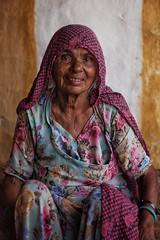 Serenity, Jaisalmer-India 2016 (MeriMena) Tags: woman cultures faces canon450d eyes traditional rural merimena face rajasthan colors asia canon india portrates jaisalmer travel