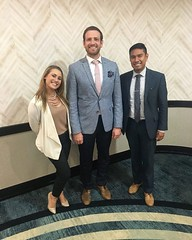 We just came back from a successful client meeting in Tampa, Florida! Here's a shot of Michele, Eli and Estevan! #olninc #travel #businesstrip (oln_inc) Tags: oln inc carson ca los angeles