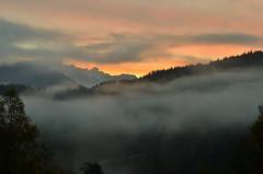 """ Sunrice Salzburg "" (Kalbonsai) Tags: sunrice salzburg stereich clouds potdoorphotography nikon d5100 1685mm mountains bergen color nebel mist"
