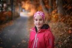 just walking... (amirosphere) Tags: k1 pentaxart pentax pentaxk1 smcpfa50mmf14 portraitofgirl outdoor autumn colors nature