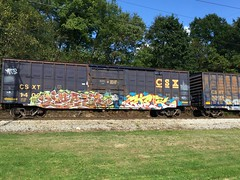 Beer Gier (Swish 1998) Tags: freight graffiti ohio ks hgods droids wafact