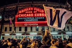Wrigley Field Marquee - Chicago Cubs 2016 National League Champions (Joshua Mellin) Tags: chicagocubs cubs 2016 marquee wrigleyville chicago wrigleysville chicagocubsplayoffs tickets worldseries schedule mlb chicagocubstickets playoffs baseball champions nlcs nlcschampions nationalleaguechampions chicagoist wflag w flythew addison clark