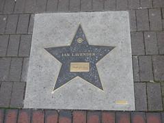 Broad Street Walk of Stars - Ian Lavender (ell brown) Tags: broadst birmingham westmidlands england unitedkingdom greatbritain fivewayscomplex broadstreetwalkofstars broadstreetwalkofstarsbirmingham ianlavender dadsarmy madeinbirmingham redtemplefoundry cineworld