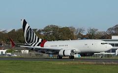N737ER Jet Aviation Boeing 737-7CJ(BBJ ONE),Glasgow Prestwick 23/101/6 (BS Images.) Tags: n737er boeing bizjet bbj 737 7377cj egpk glasgowprestwick gpa prestwick prestwickairport pik ayrshire scotland southayrshire airport aircraft aviation