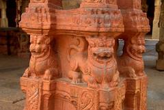 Red Lions (VinayakH) Tags: bhoganandeeshwaratemple karnataka india temple nandihills chikkaballapura chola ganga hoysala tipusultan religious historic