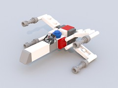 Truxwing X-Wing.lxf (robbytimmermans) Tags: lego starwars miniscale
