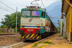 FS E655.061 (DavideEos) Tags: eisenbahn ferrovia railway treno train zug merci freight binari domodossola sempione