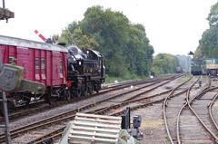 IMGP5609 (Steve Guess) Tags: ropley medstead fourmarks alton alresford hants hampshire england gb uk steam loco train railway locomotive ivatt 2mt tank 41312 british railways