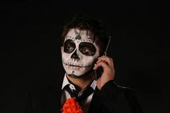 Catrin (Dary Oro) Tags: catrin calaveras catrinas dia de muertos mexico traje guy boy elegant estudio photo pic
