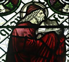 [45604] St Editha, Tamworth : Noah (Budby) Tags: tamworth staffordshire church window stainedglass preraphaelite