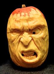 Rowdy drunk (Hooften) Tags: carvers carving halloween jackolantern pumpkin