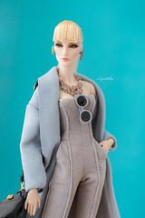 "OOAK Fashion Royalty ""FAULTLESS "" Elyse Jolie by Aquatalis (AlexNg & QuanaP) Tags: ooak fashion royalty faultless elyse jolie by aquatalis original fine print makeover photos quanap"