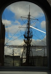 IMG_7693 (danakhoudari) Tags: reflection blue dof london mood scnery sky clouds moody canon boat rain fog winter mist perspective scenery