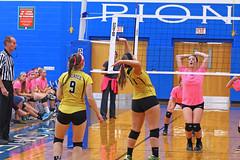 IMG_10384 (SJH Foto) Tags: girls volleyball high school lampeterstrasburg lampeter strasburg solanco team tween teen east teenager varsity net battle spike block action shot jump midair