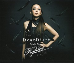(CD+DVD  Jacket) Dear Diary_Fighter (1) (Namie Amuro Live ) Tags: namie amuro  deardiary deathnote fighter cddvd singlecover jacketsscans dvdcover
