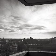 Concrete Sky over Berlin (Christian Del Monte) Tags: newtopography kreuzberg bw panorama berlin