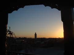 La_Koutoubia_from_the_Ryad_Ilayka_Belvedere,_Marrakech_1 (Abbey_L) Tags: lakoutoubia marrakech minaret morocco mosque tower