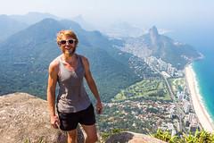 IMG_5013-2 (sergeysemendyaev) Tags: 2016 rio riodejaneiro brazil pedradagavea    hiking adventure best    travel nature   landscape scenery rock mountain    high forest  ocean   blue
