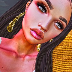meh (VIBE INC) Tags: workflow work working emo personal close up shot face bae graphics designer design blogger blog vibe cute photoshopped head body mesh online game secondlife avatar profile pretty photograph photography phone photo