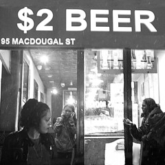 And then we are like lions Nothing dares get in our way (Rommel Parada) Tags: macdougal street nyc people ny manhattan bigapple latenight afterdark bar beer candid portrait characterstudy rain raining noir highcontrast westvillage downtown girls women nightlife bw monochrome storefront artistic art fashion