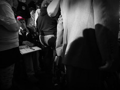 Donald Trump Rally (James B Currie) Tags: bw wheelchair donaldtrump trump trumprally regentuniversity virginiabeach politics rally election2016 campaign makeamericagreatagain october 2016 politician people republicans gop