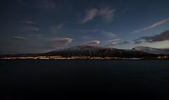 18 (Sergio Eschini) Tags: tromso viaggio travel norvegia normay snow december inverno winter crepuscolo natura landscape citta city luci notte lights night