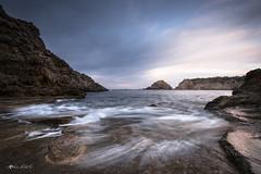 A million years ago (ql uOs) Tags: ibiza baleares mediterraneo mar piedras orillas costa shore sea rocks clouds winter cold beach island nikon d750 ff fx