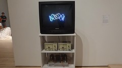 Nam June Paik - TV Crown (c_nilsen) Tags: namjunepaik art video sanfrancisco california museum sanfranciscomuseumofmodernart digital