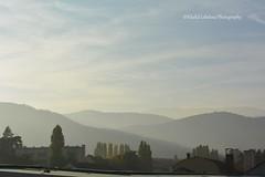 Montagnes et Brouillard (khalid.lebdioui) Tags: sky fog mountain landscape hill nikon d5200 france alsace guebwiller brouillard cloud autumn automne