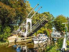 19-Open Draw Bridge in Broek in Waterland  25Sep16 (1 of 1) (md2399photos) Tags: broekinwaterland hollandholiday25sep16 irenehoevetouristshop monnickendam