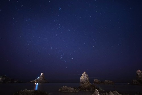 #beach #beauty #blue #clouds   #nature #night #star #photooftheday  #skylovers #twilight #sicily #acitrezza #rosarioscalia