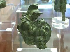 1st century AD Achilles and Pentesileas (Kevin J. Norman) Tags: mantua lombardy achilles penteseleas pentesileas bronze