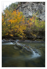 Taughannock Falls in autumn (danny wild) Tags: finger lakes new york autumn fall leaves waterfall ithaca