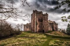 Doom! (Einir Wyn) Tags: castle scotland colour color history ancient ruin sky landscape sterling doune building uk light seasons winter britain foliage outdoor
