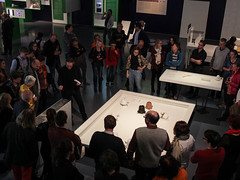 "Opening ""The Alchemists of Art and Science"" (Ars Electronica) Tags: 2016 arselectronica arselectronicacenter thealchemistsofartandscience artandscience exhibition linz upperaustria austria museum mediaart art technology society science opening"