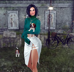1203 - Training the pups (Nyenna.E) Tags: catwa slink 7deadlyskins stealthic luxebox jian redroom