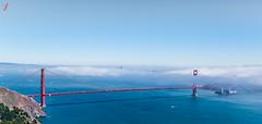 GoldenGate (Jamsheed Photography) Tags: golden gate battery spencer canon 5d mark iii water sea blue fog bridge san fransisco sky city ef24105mmf4lisusm canoneos5dmarkiii