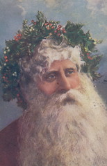 "Antique CHRISTMAS SANTA c.1908 FATHER CHRISTMAS HANDSOME RED SUITED SANTA WHITE FUR TRIM WEARING A WONDERFUL HOLLY CROWN Publisher Raphael TUCK Christmas Series 18031 (UpNorth Memories - Donald (Don) Harrison) Tags: christmas santa jesus vintage antique postcard rppc ""don harrison"" ""upnorth memories"" upnorth memories upnorthmemories michigan history heritage travel tourism ""michigan roadside restaurants cafes motels hotels ""tourist stops"" ""travel trailer parks"" campgrounds cottages cabins ""roadside entertainment"" ""natural wonders"" attractions usa puremichigan "" ""railroad ferry"" ""car excursion"